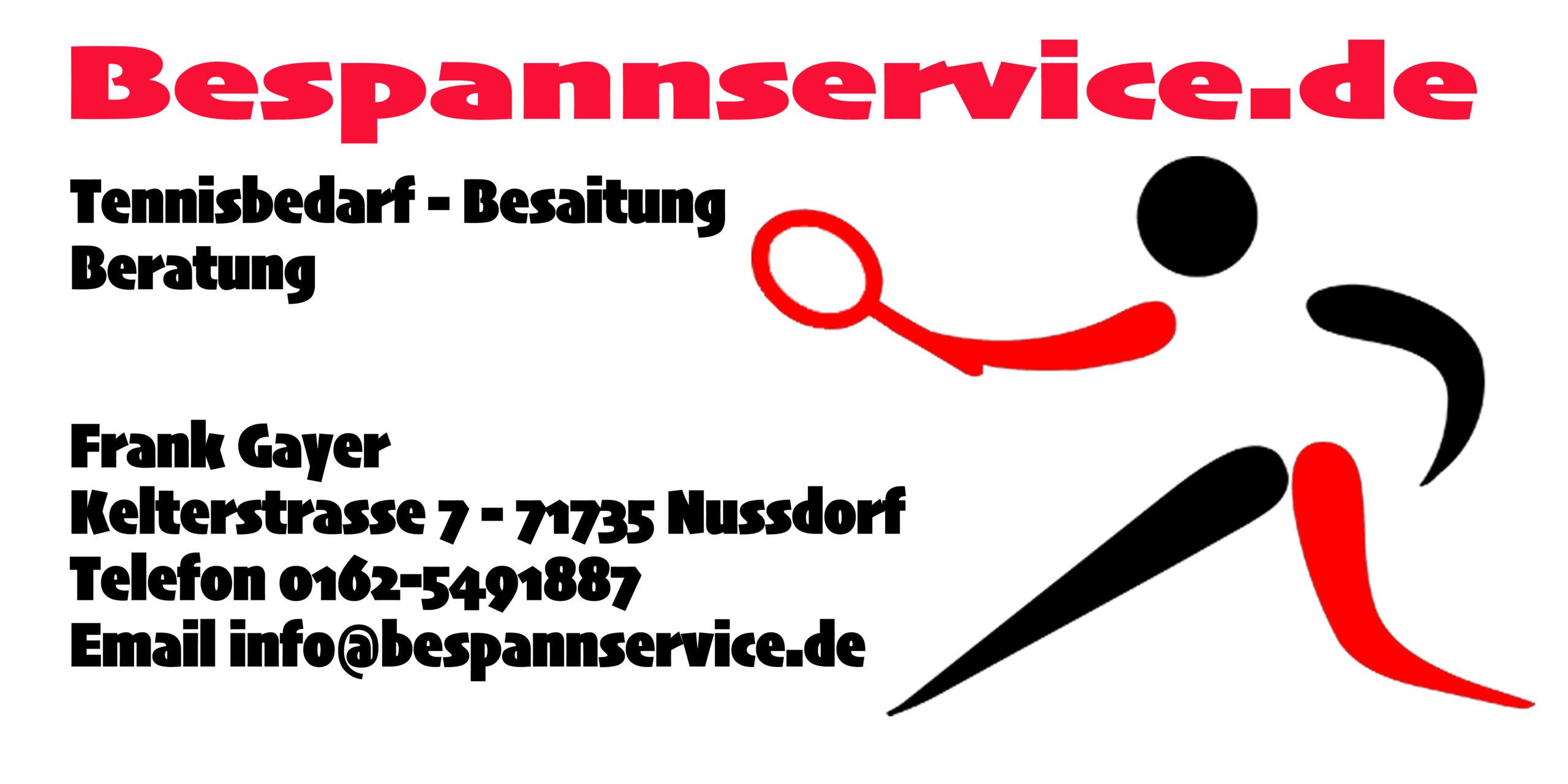 Willkommen bei Bespannservice.de
