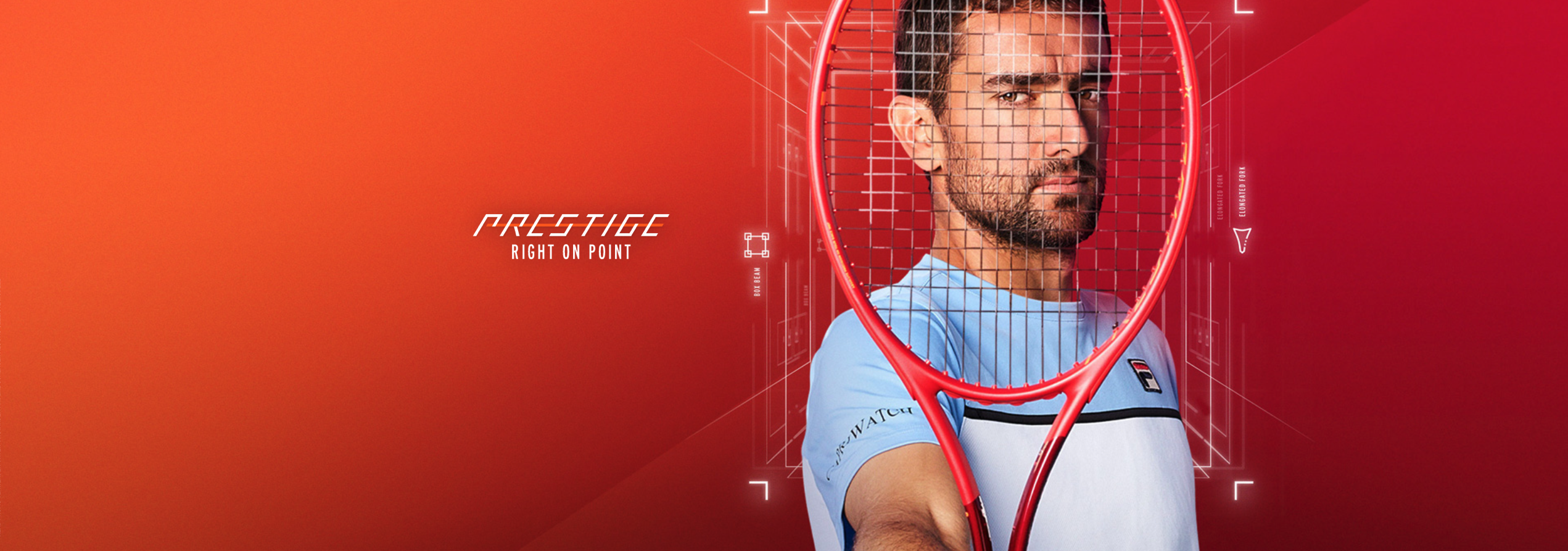 Head Prestige Rackets – Right on point